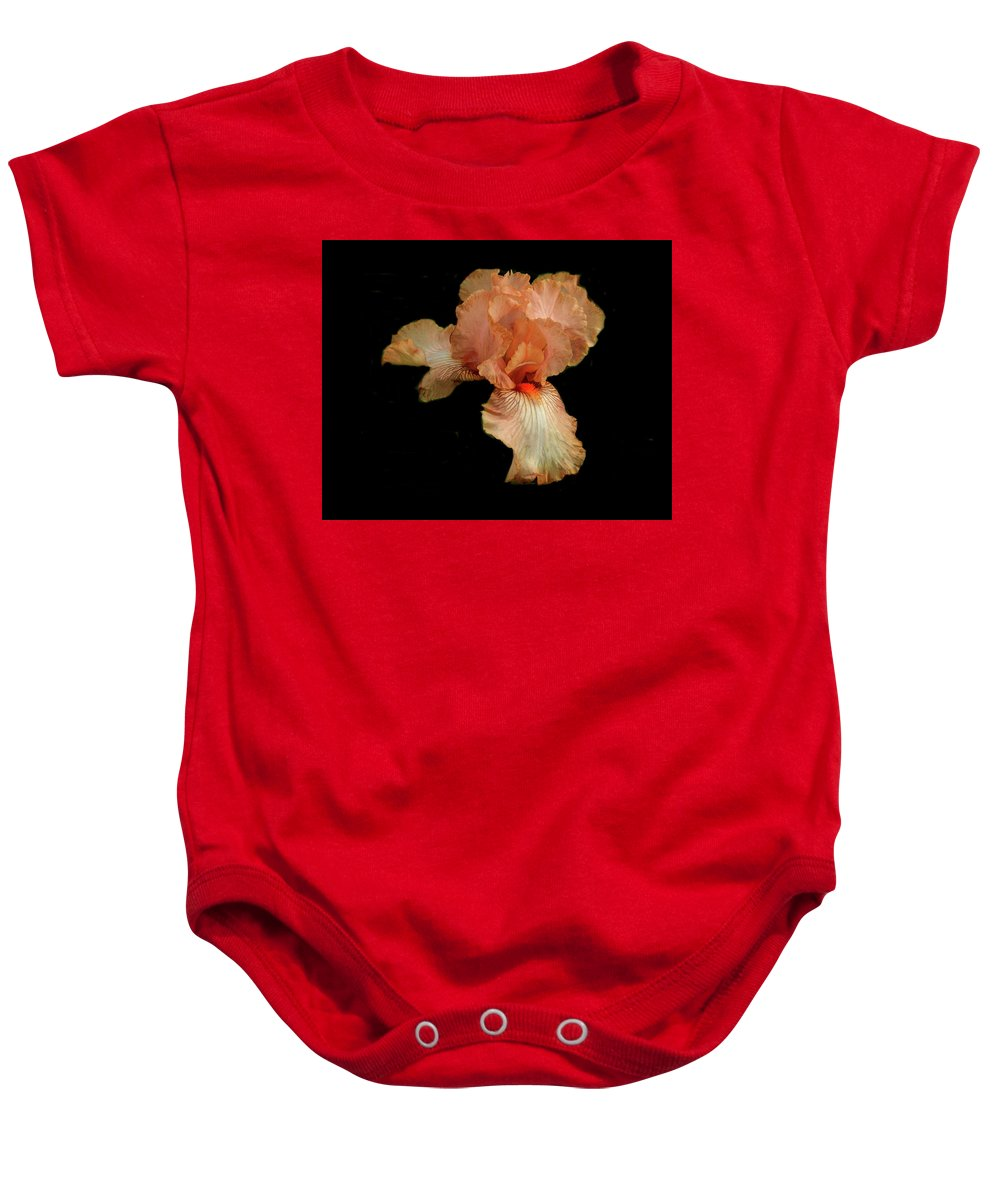 Iris Baby Onesie featuring the photograph Open For View by Bob Welch