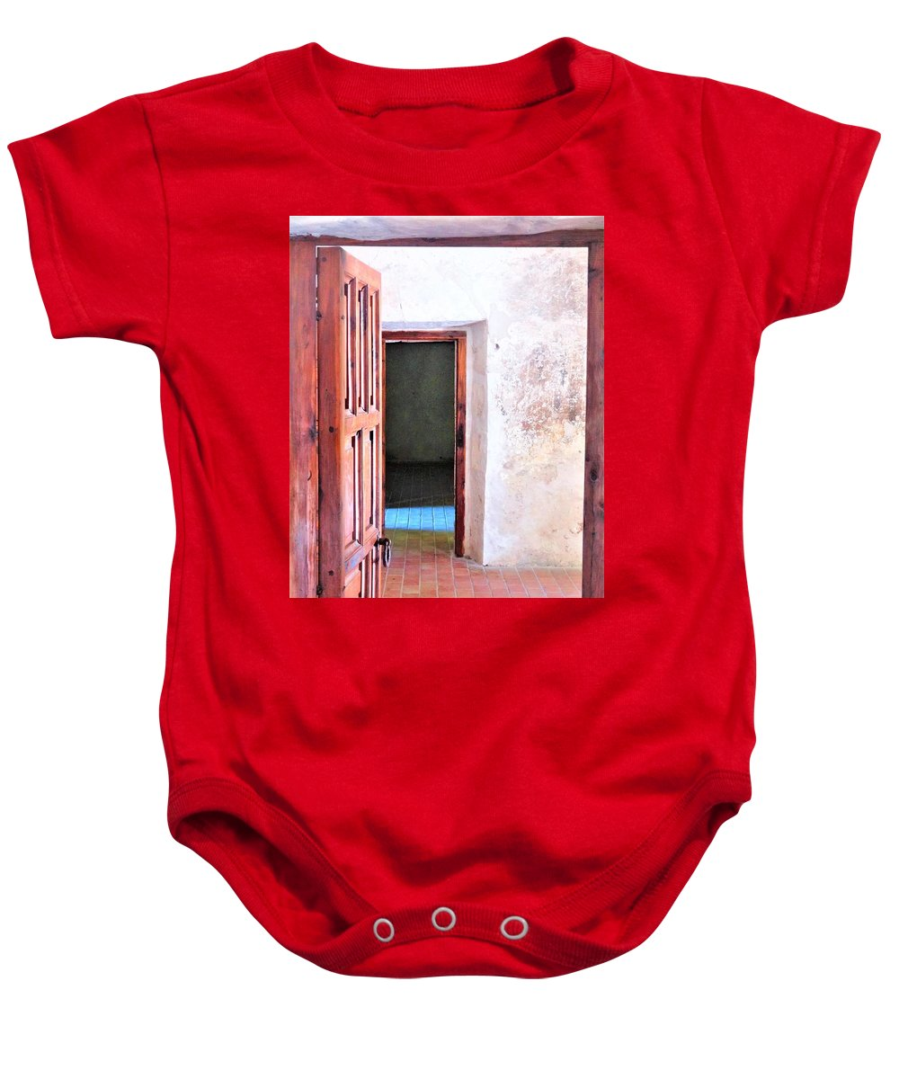 Baby Onesie featuring the photograph Other Side by Pablo Munoz