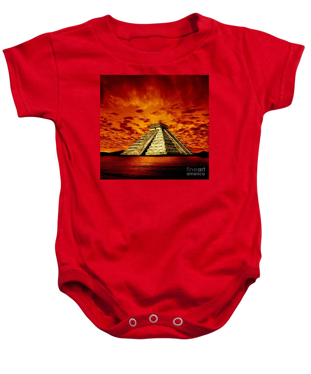 Photodream Baby Onesie featuring the photograph Prophecy by Jacky Gerritsen