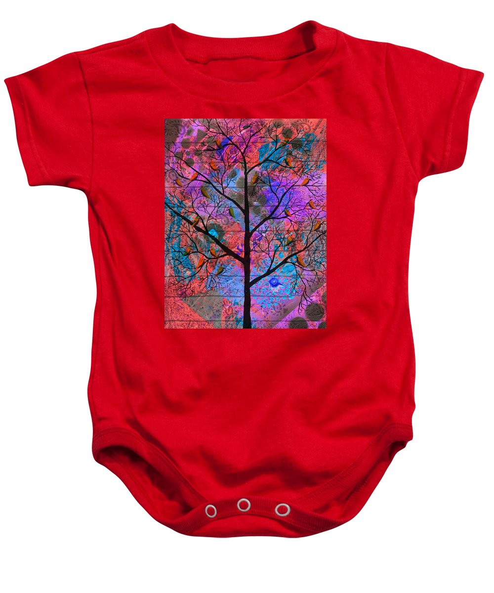 Colourful Baby Onesie featuring the digital art Rangsamar by Sumit Mehndiratta