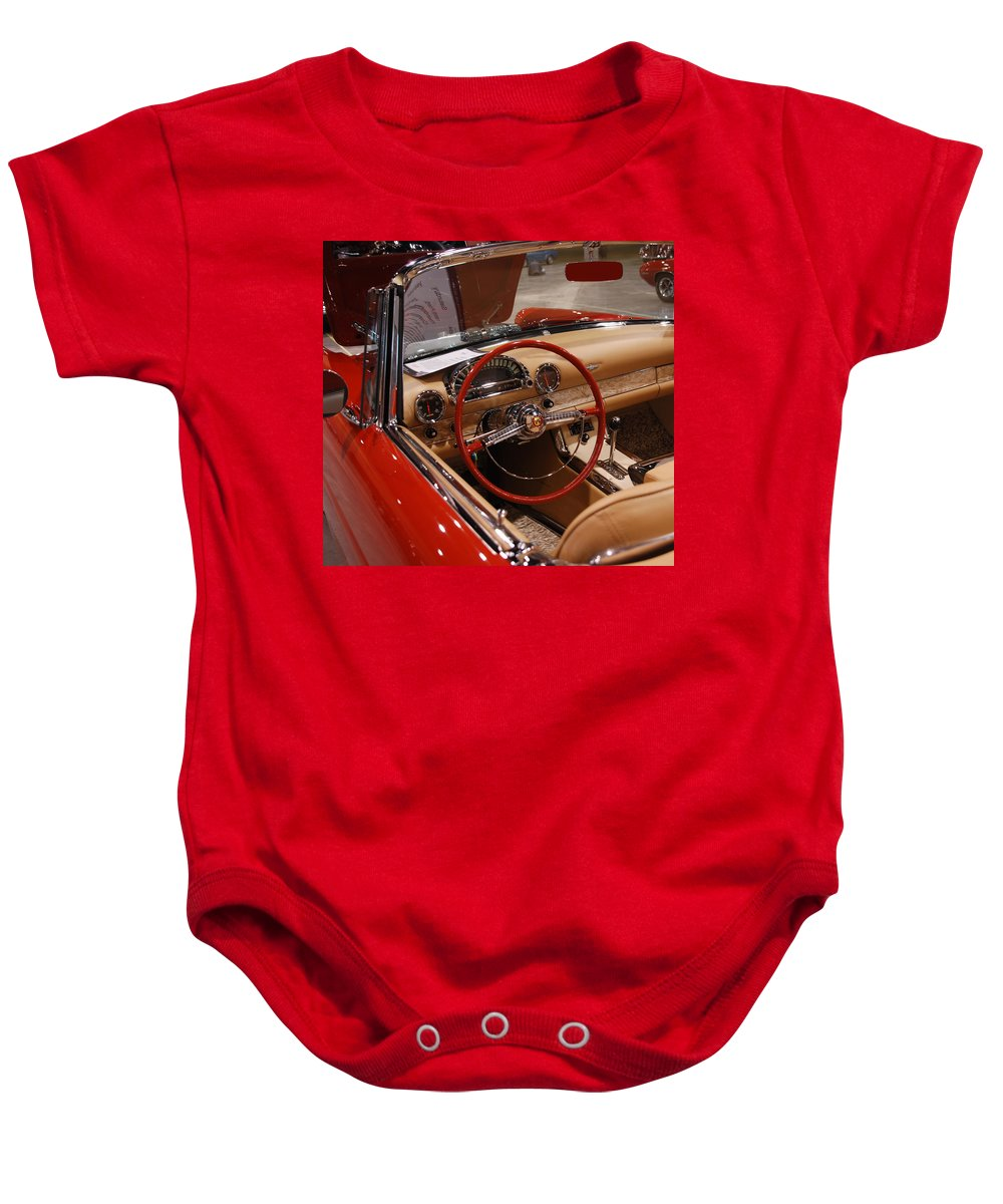 Cars Baby Onesie featuring the photograph Ready For A Ride by Susanne Van Hulst