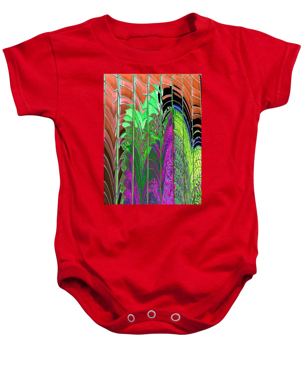 Reflection Baby Onesie featuring the photograph Reflection 2 by Tim Allen