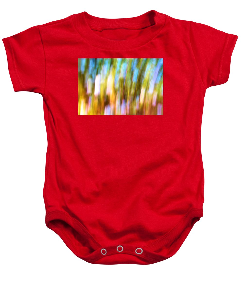 Repetition Baby Onesie featuring the photograph Repetition by Josephine Buschman