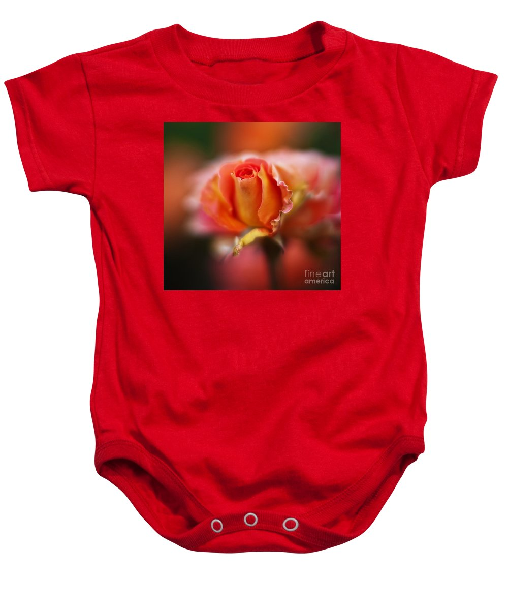 Rose Baby Onesie featuring the photograph Rose Centerpiece by Mike Reid