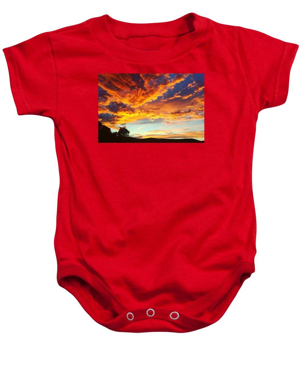 Sunset Baby Onesies
