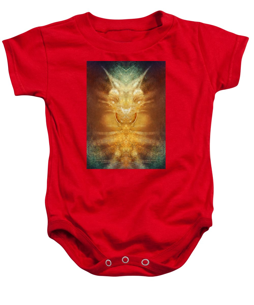 Humour Baby Onesie featuring the digital art Sense Of Humour by WB Johnston