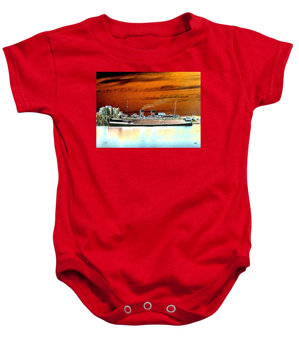 Ship Baby Onesie featuring the digital art Shipshape 2 by Will Borden