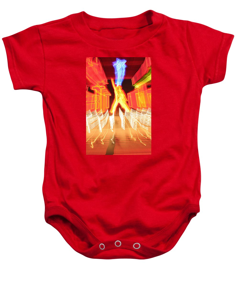 Hollywood Baby Onesie featuring the photograph Starstruck by Ric Bascobert
