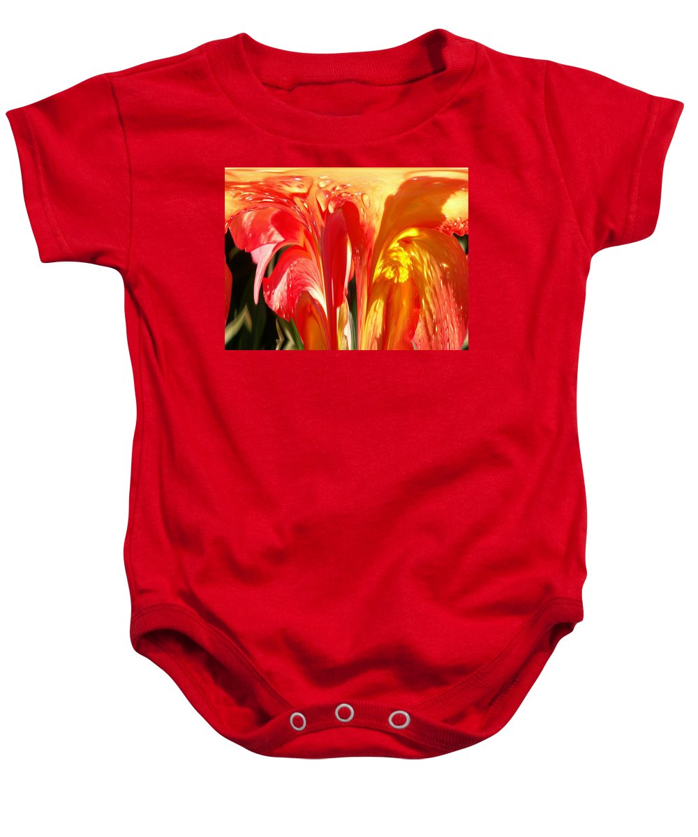 Flowers Baby Onesie featuring the photograph Succulence by Tim Allen