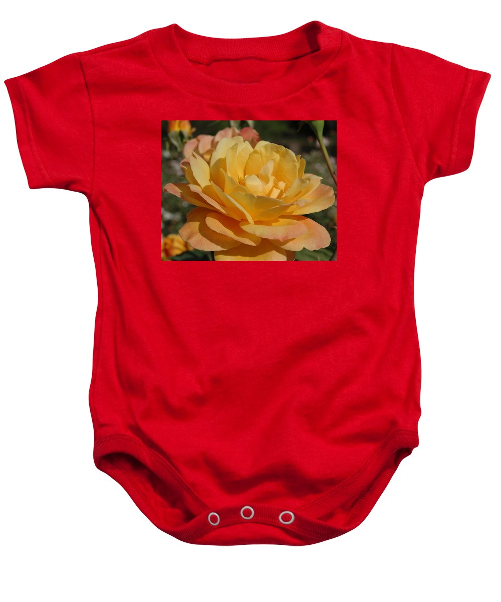 Yellow Baby Onesie featuring the photograph Summer Surprise by Teresa Stallings