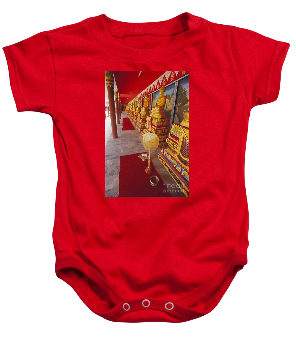 Asian Art Baby Onesie featuring the photograph Thailand, Lop Buri by Bill Brennan - Printscapes