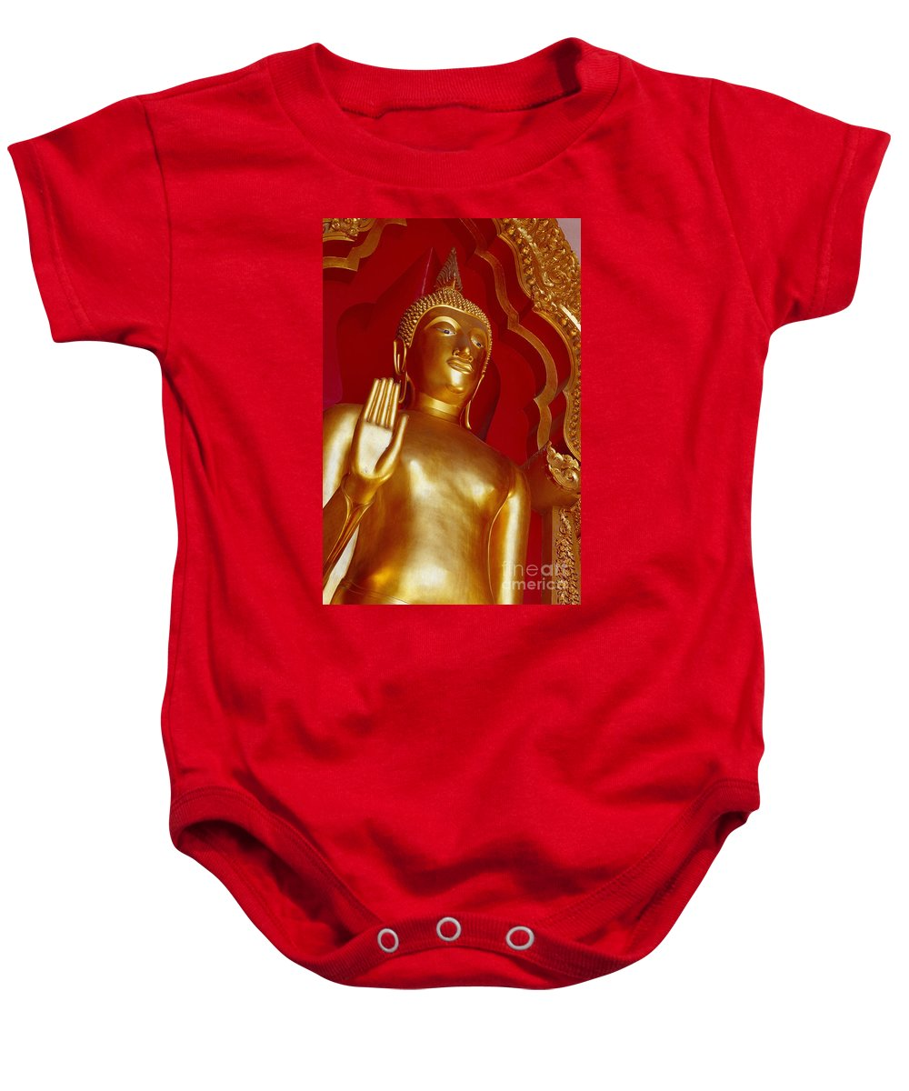 Asian Art Baby Onesie featuring the photograph Thailand View by Bill Brennan - Printscapes