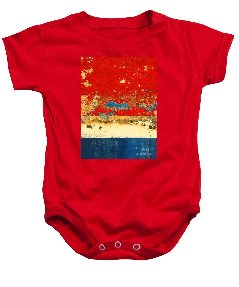 Boat Baby Onesie featuring the photograph The Old Boat by Tara Turner
