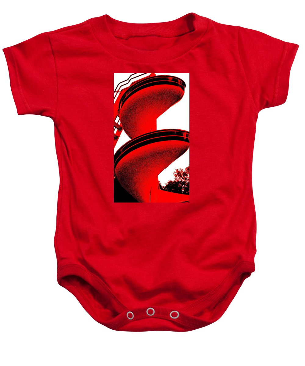 Still Life Baby Onesie featuring the photograph The S. S. Tornado by Ed Smith