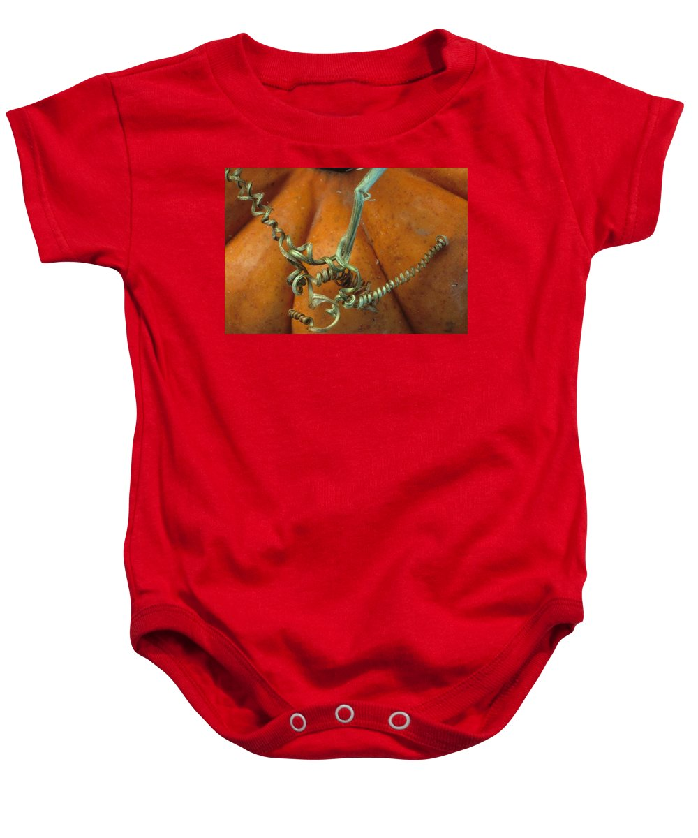 Autumn Baby Onesie featuring the photograph Voluptuous Autumn by Laurie Paci