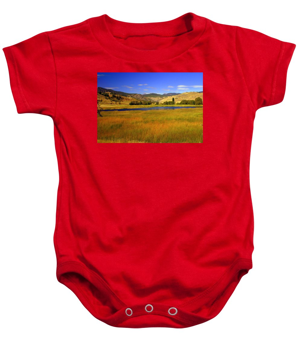 Landscape Baby Onesie featuring the photograph Washington Landscape by Marty Koch