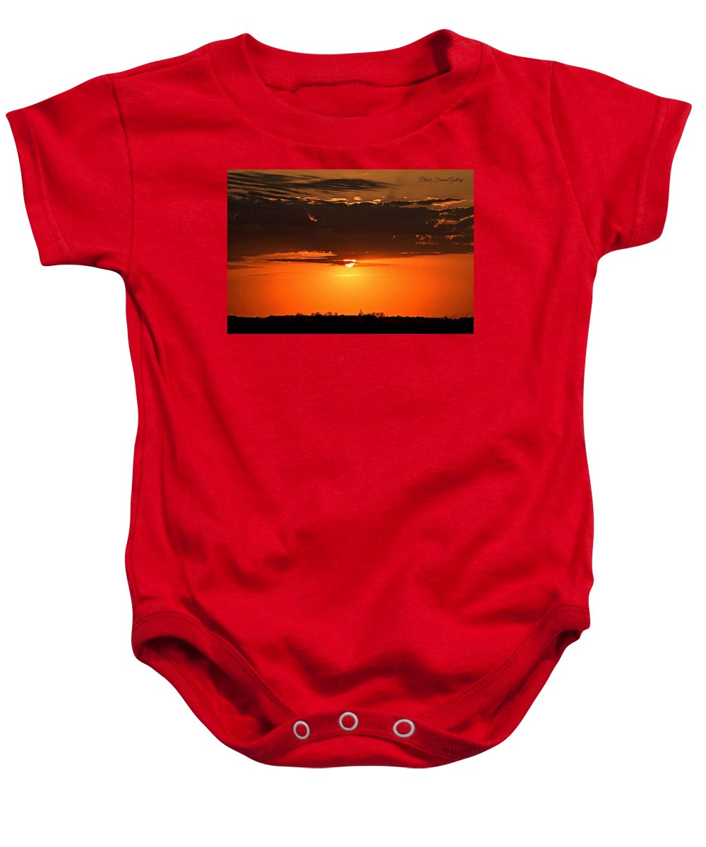 Waiting With Anticipation! Baby Onesie featuring the photograph What A Sight by Kurt Keller
