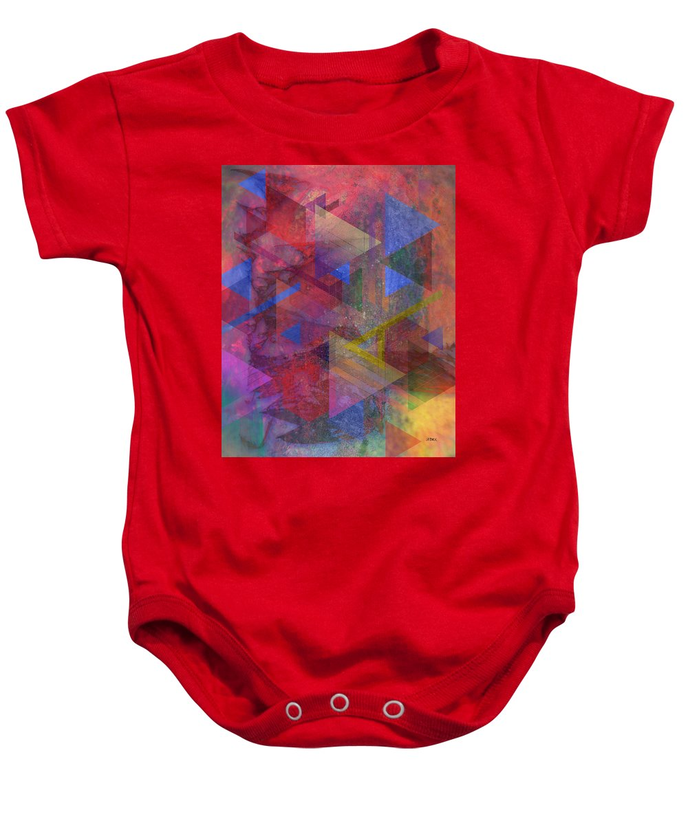 Another Time Baby Onesie featuring the digital art Another Time by John Robert Beck