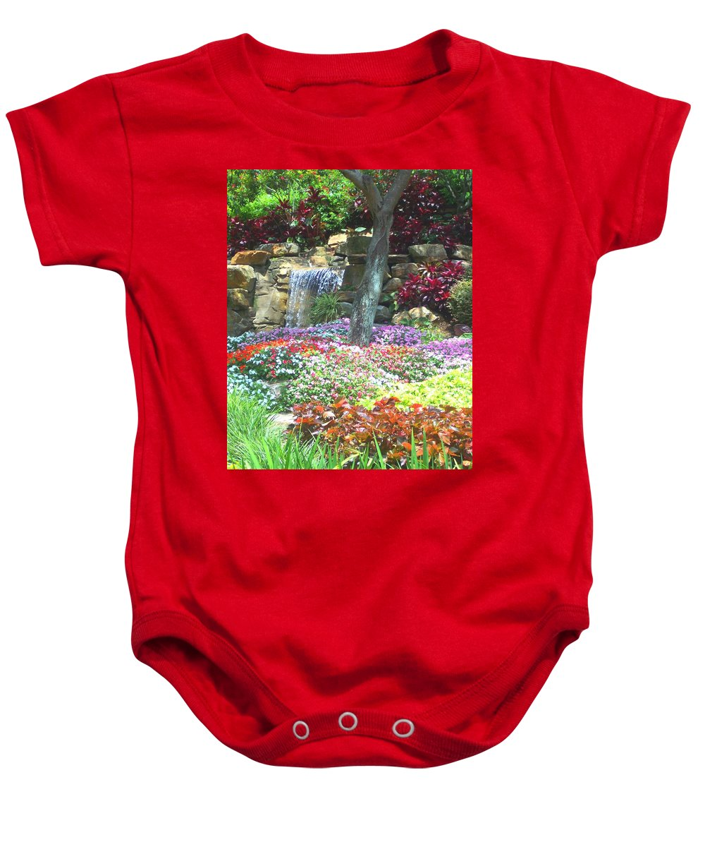 Garden Baby Onesie featuring the photograph Floral Garden by Pharris Art