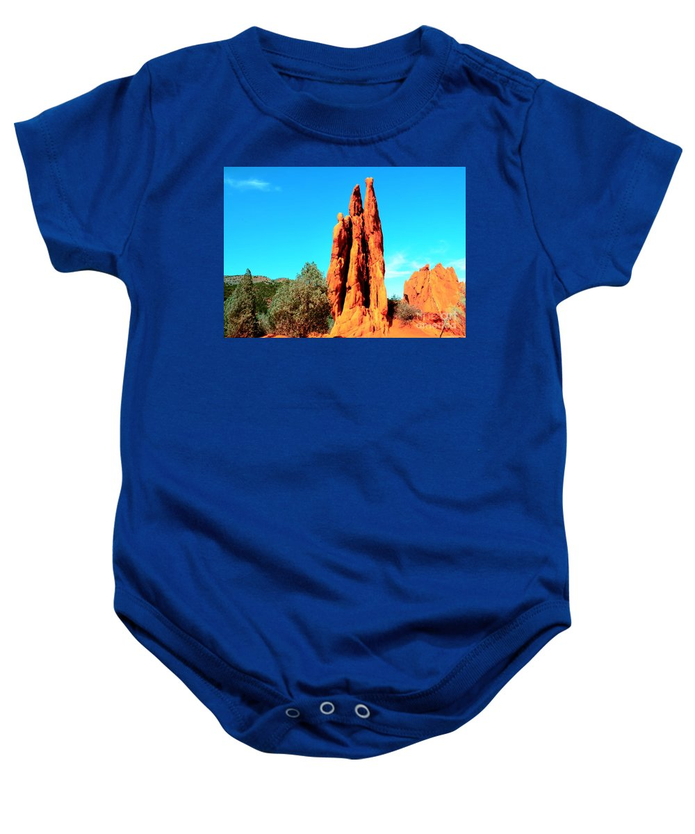 Three Baby Onesie featuring the photograph Three Graces by Kathleen Struckle
