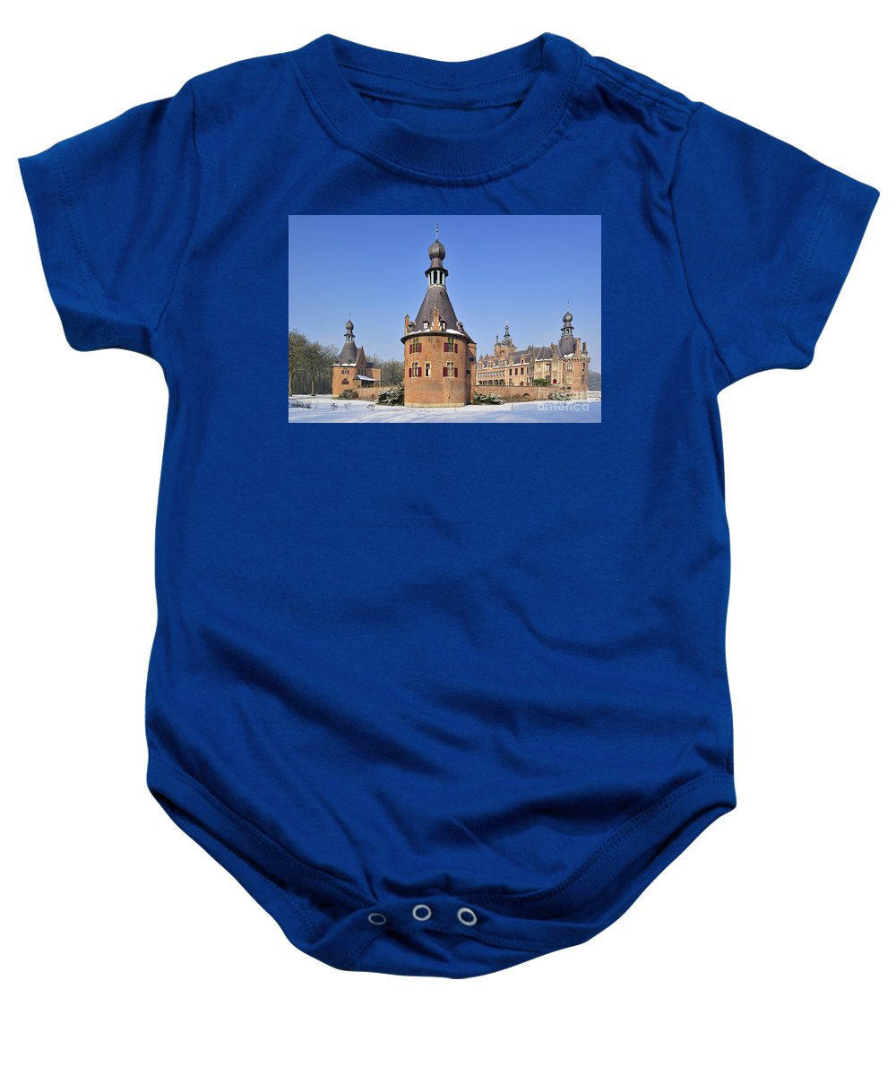Ooidonk Baby Onesie featuring the photograph 120206p022 by Arterra Picture Library