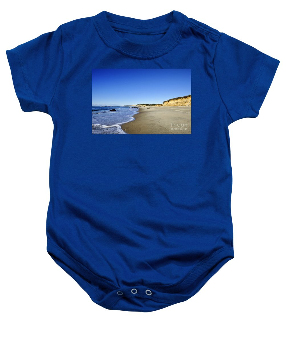Beach Baby Onesie featuring the photograph Lucy Vincent Beach by John Greim