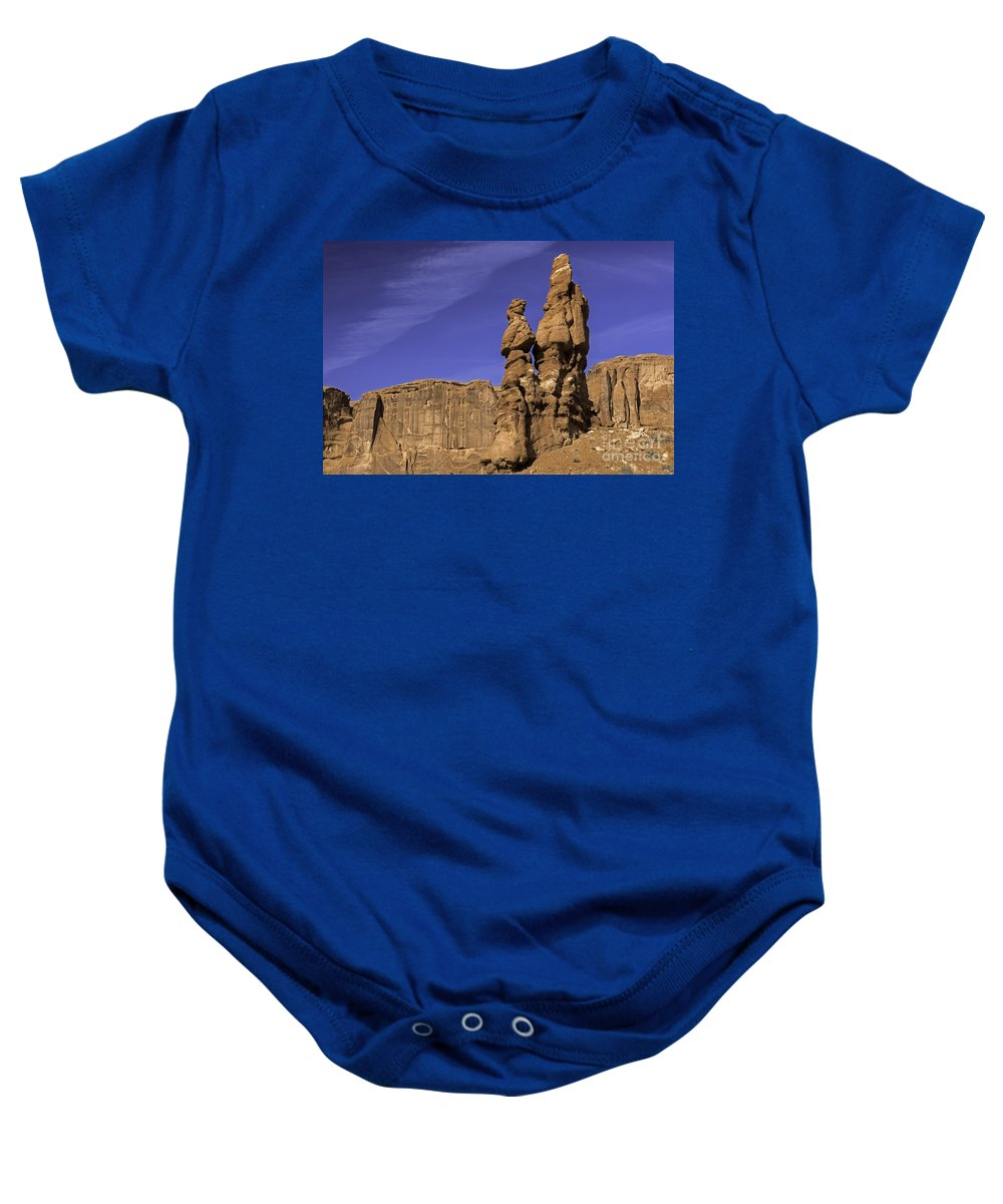 3 Gossips Baby Onesie featuring the photograph 3 Gossips by Tim Moore