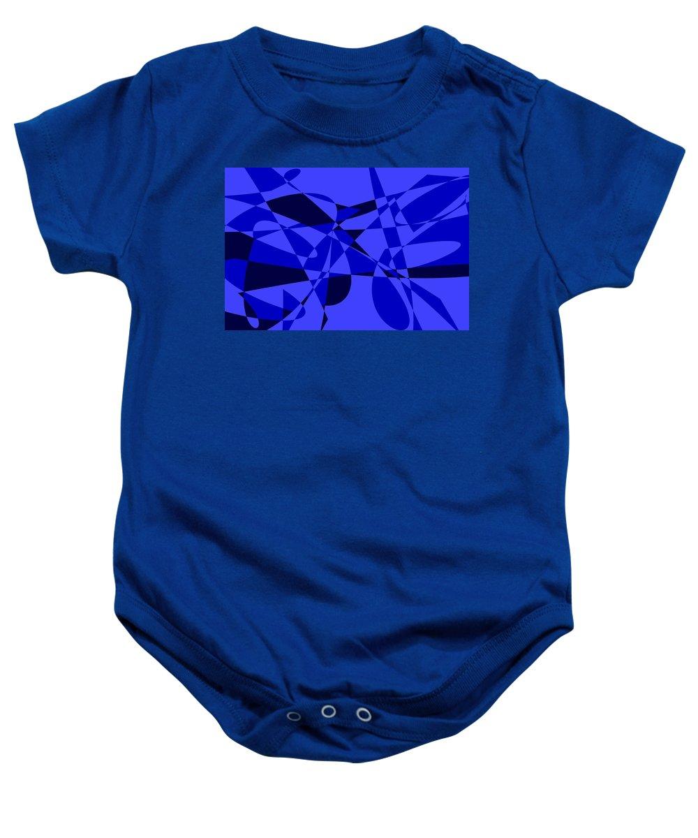 Original Baby Onesie featuring the digital art Abstract 153 by J D Owen
