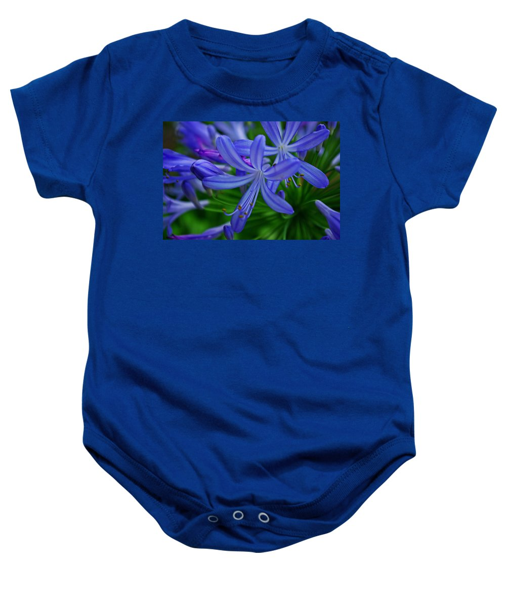 African Lily Baby Onesie featuring the photograph African Lily by Rich Walter
