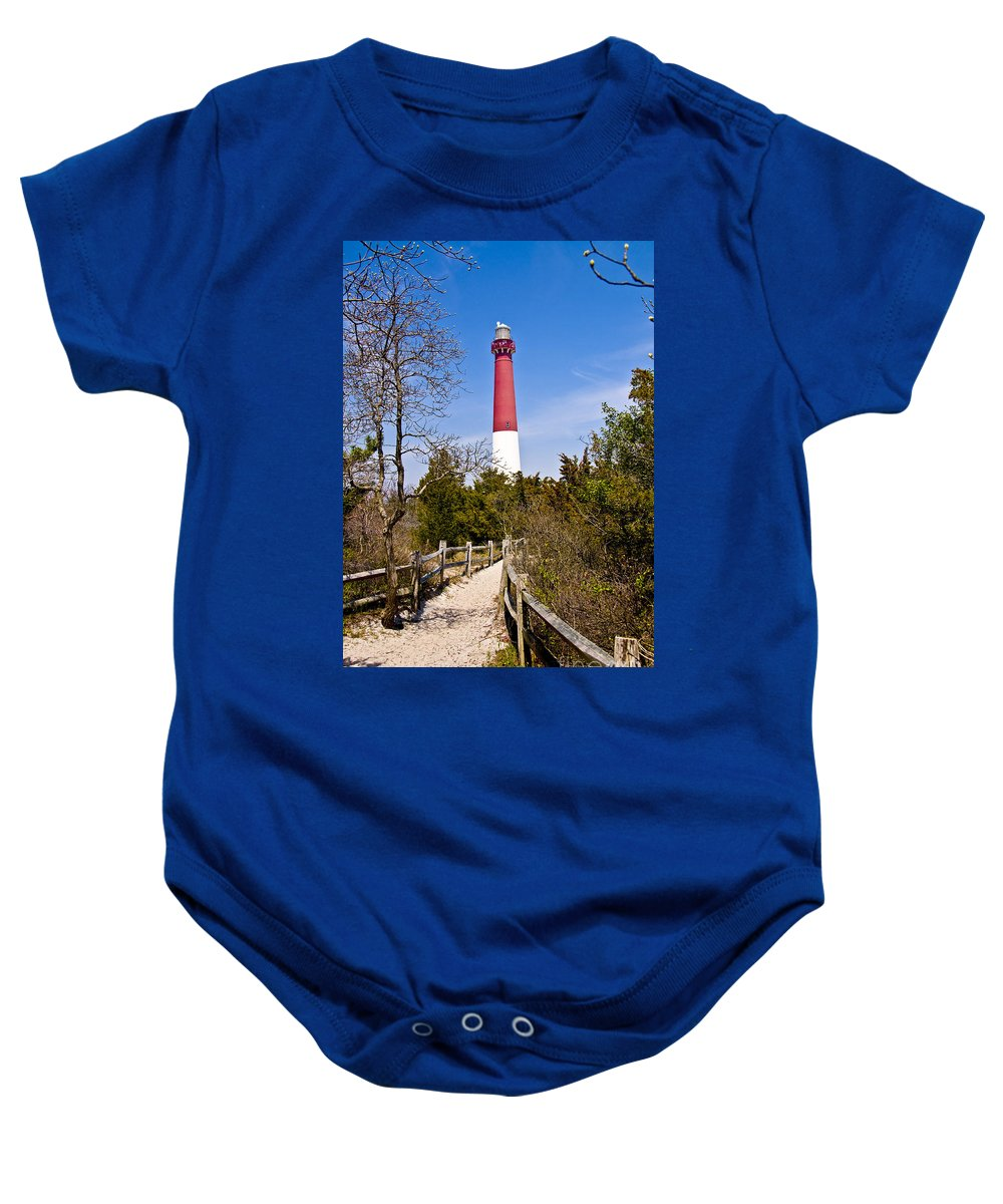 Lighthouses Baby Onesie featuring the photograph Barnegat Lighthouse II by Anthony Sacco