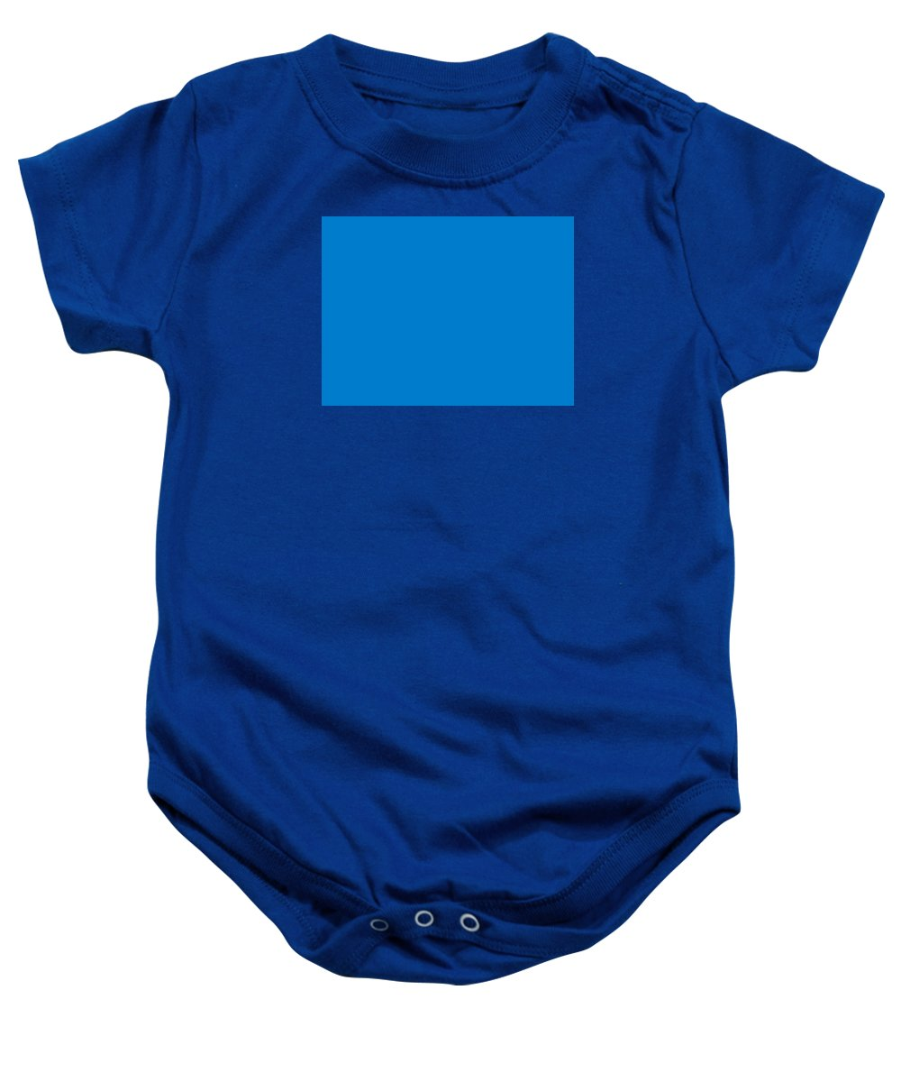 Abstract Baby Onesie featuring the digital art C.1.0-124-204.4x3 by Gareth Lewis