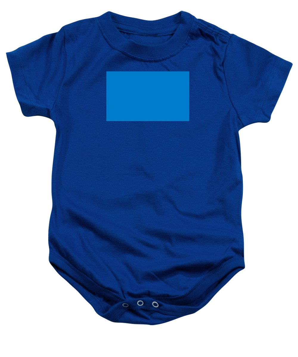 Abstract Baby Onesie featuring the digital art C.1.0-124-204.5x3 by Gareth Lewis