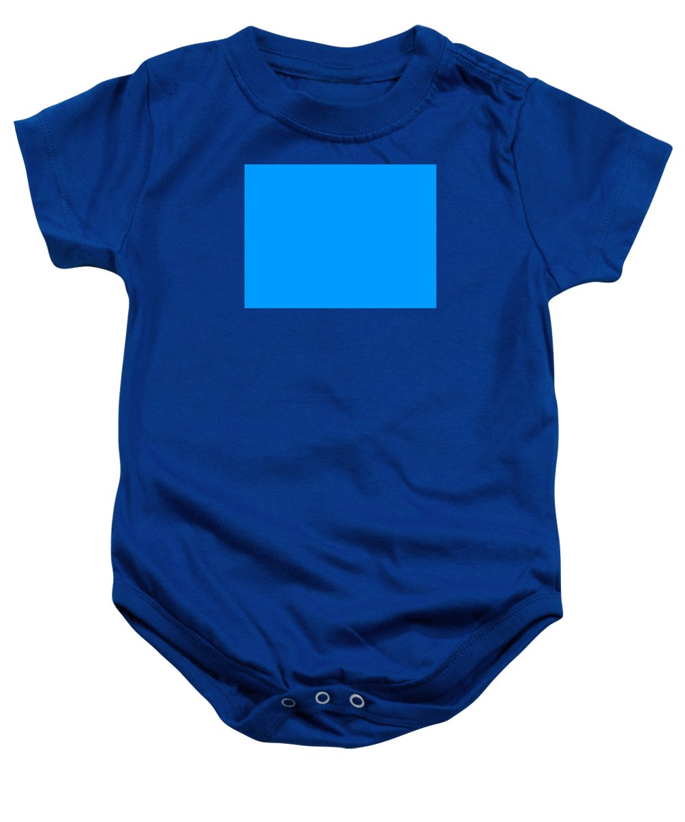 Abstract Baby Onesie featuring the digital art C.1.0-155-255.4x3 by Gareth Lewis