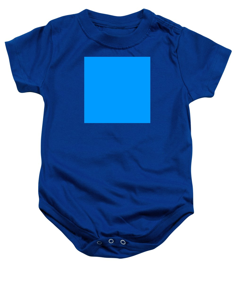 Abstract Baby Onesie featuring the digital art C.1.0-155-255.7x7 by Gareth Lewis