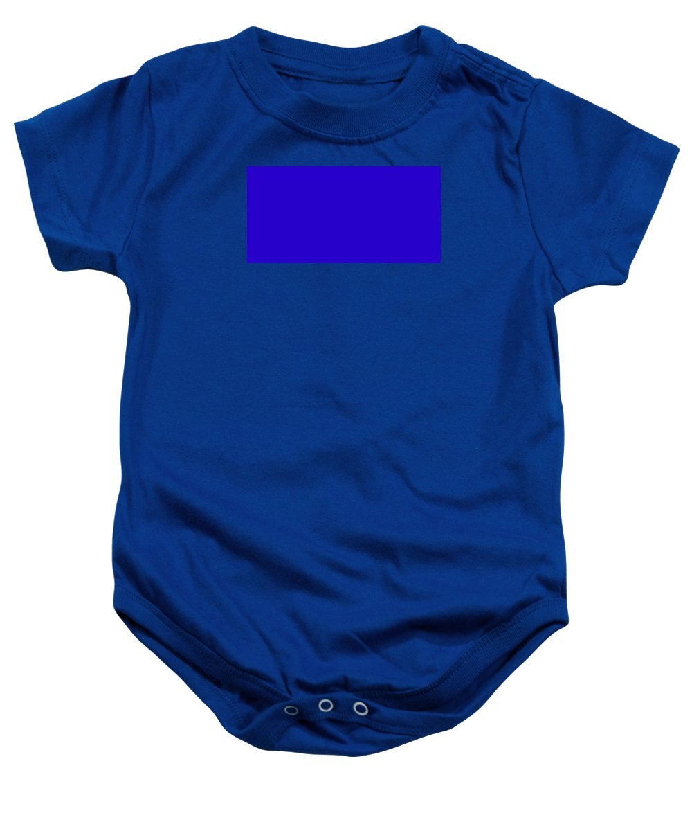 Abstract Baby Onesie featuring the digital art C.1.40-0-204.2x1 by Gareth Lewis