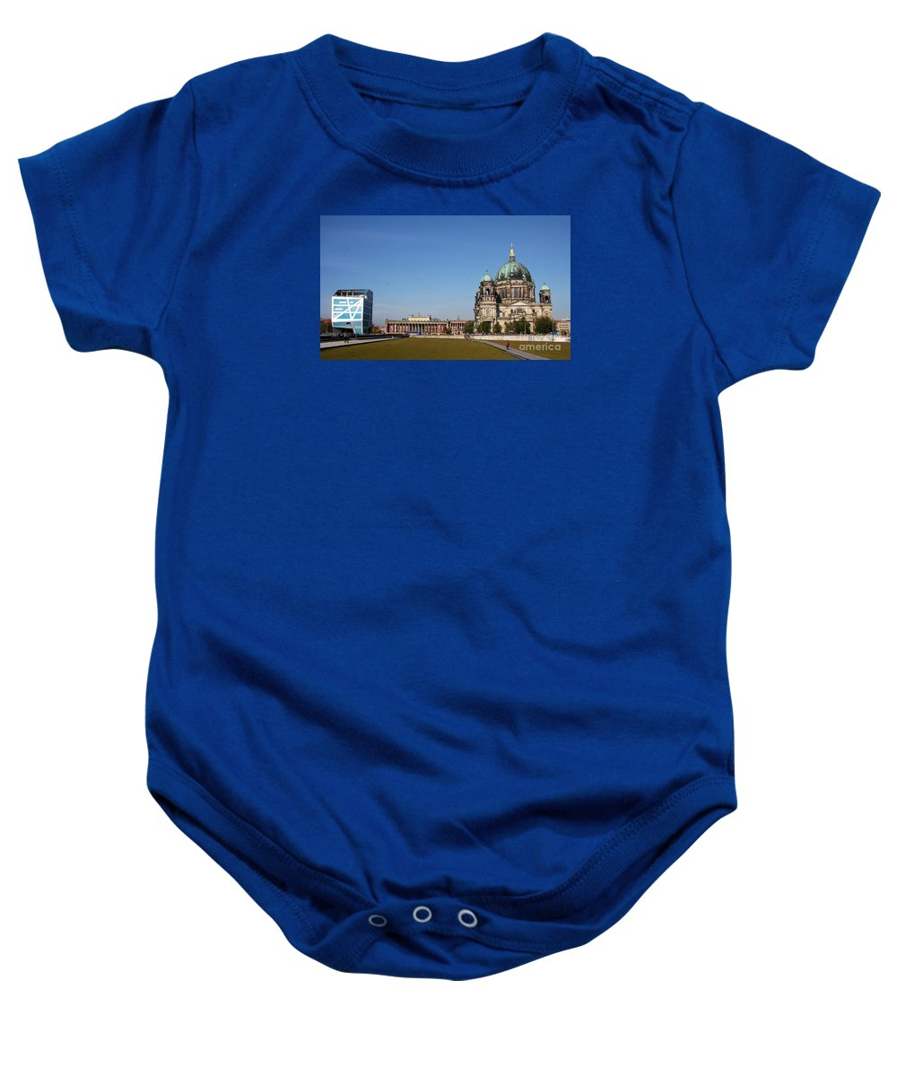 Cathedral Baby Onesie featuring the photograph Cathedral And Humboldt Box by Christiane Schulze Art And Photography
