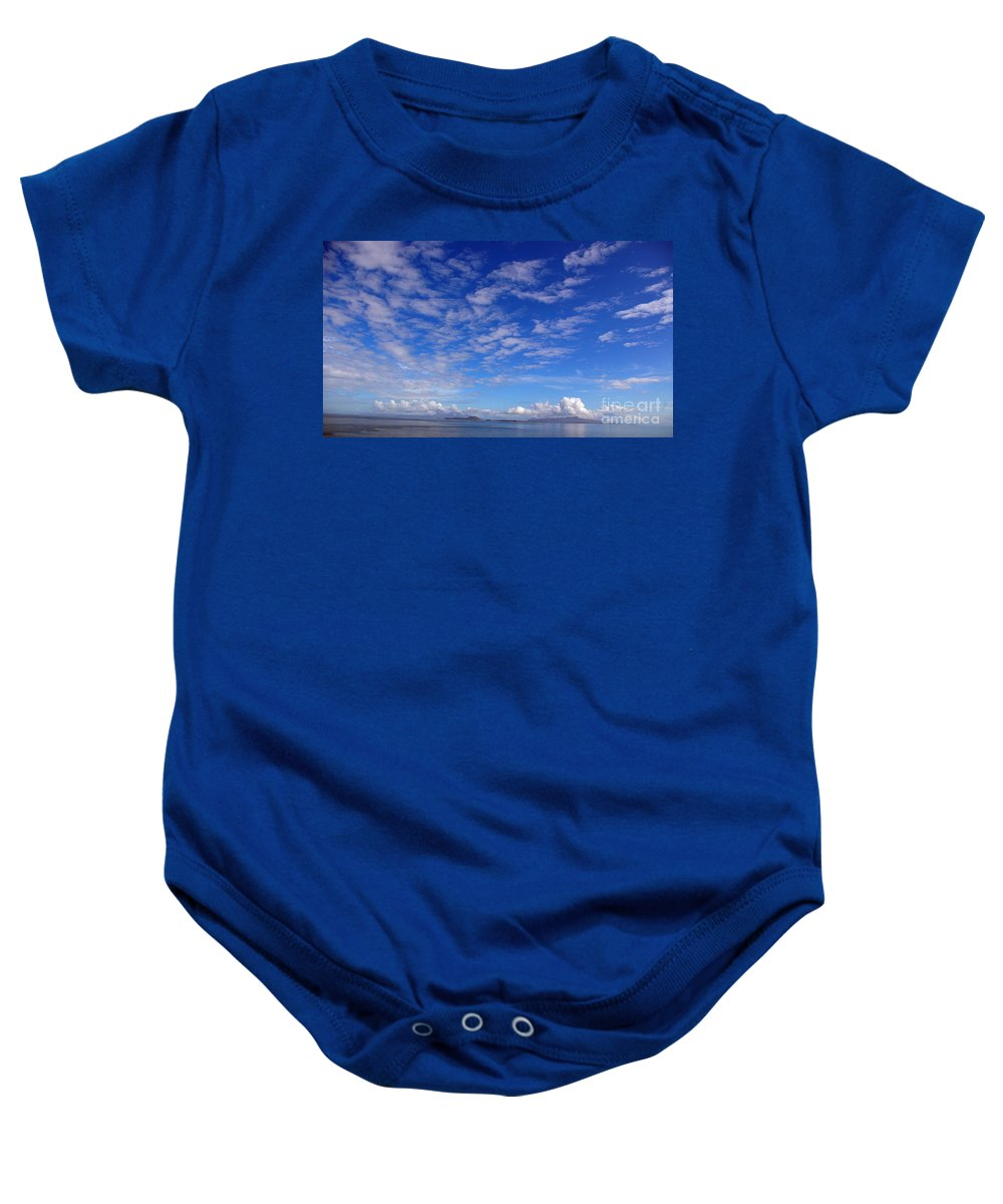 Scotland Baby Onesie featuring the photograph Cloud N Sky 3 by Nancy L Marshall
