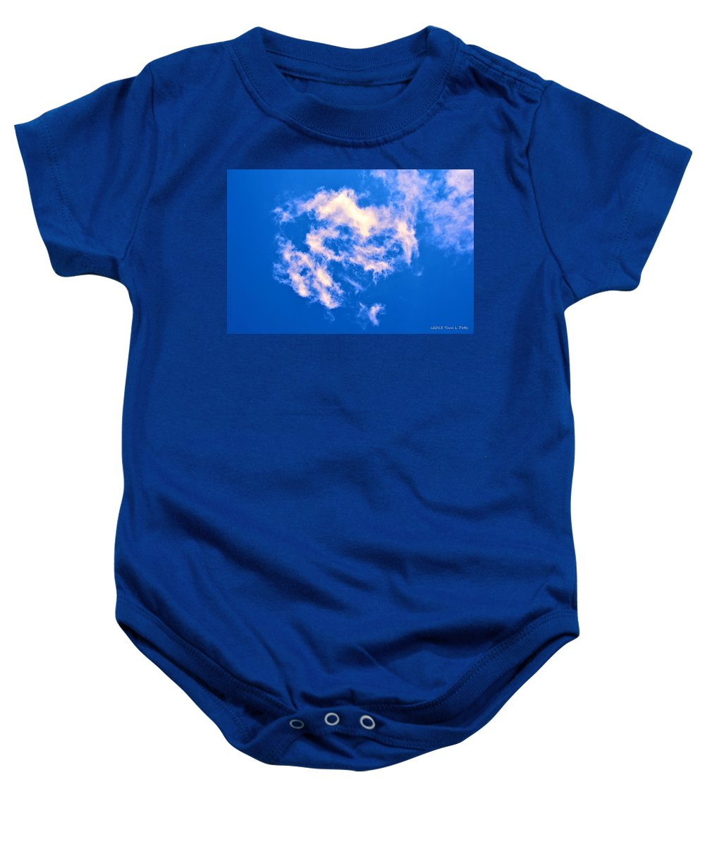 Clouds Baby Onesie featuring the photograph Clouds 11 by Tara Potts