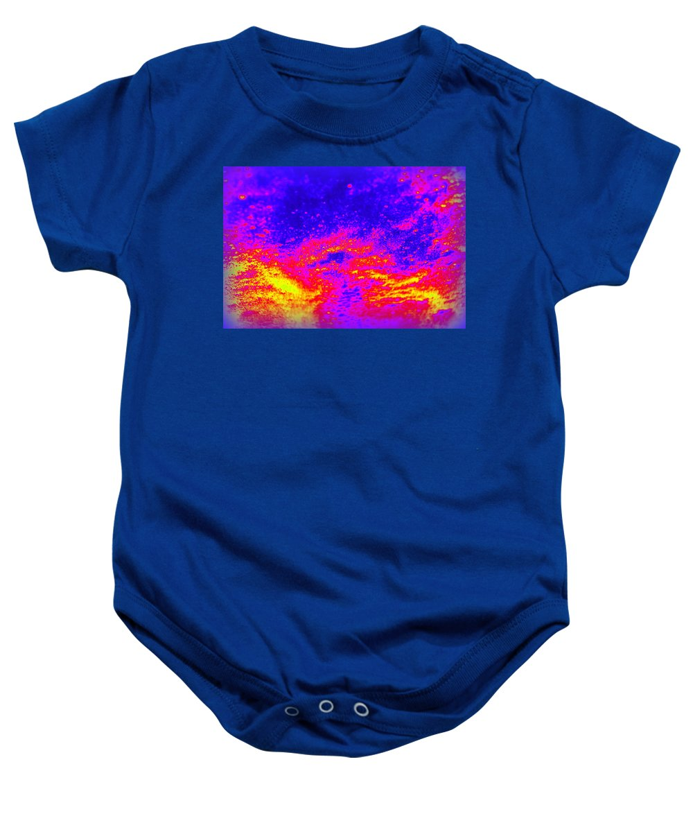 Cosmic Baby Onesie featuring the photograph Cosmic Series 005 by Larry Ward