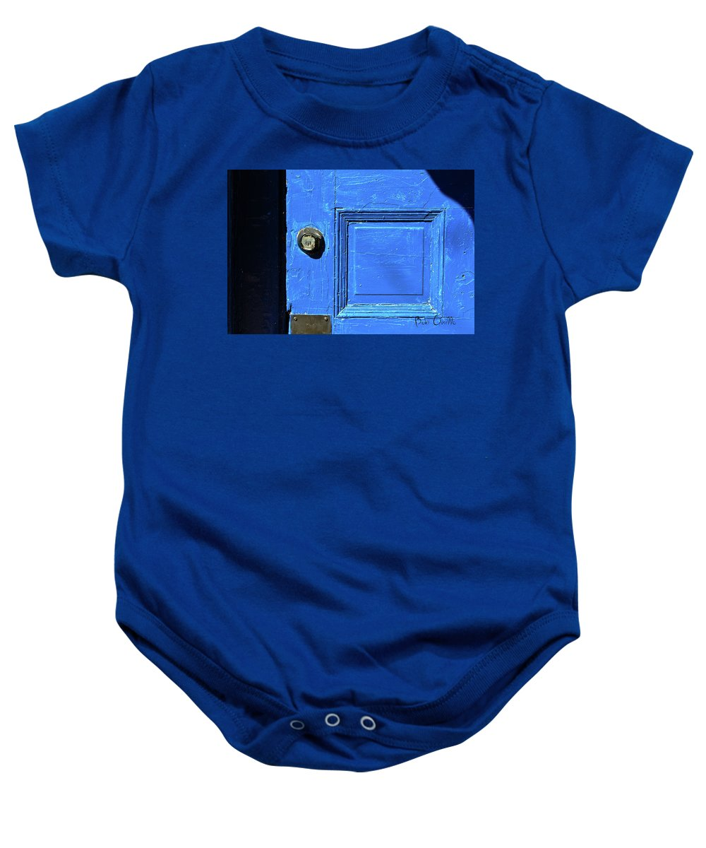 City Baby Onesie featuring the photograph Entrance To Babylon by Bob Orsillo