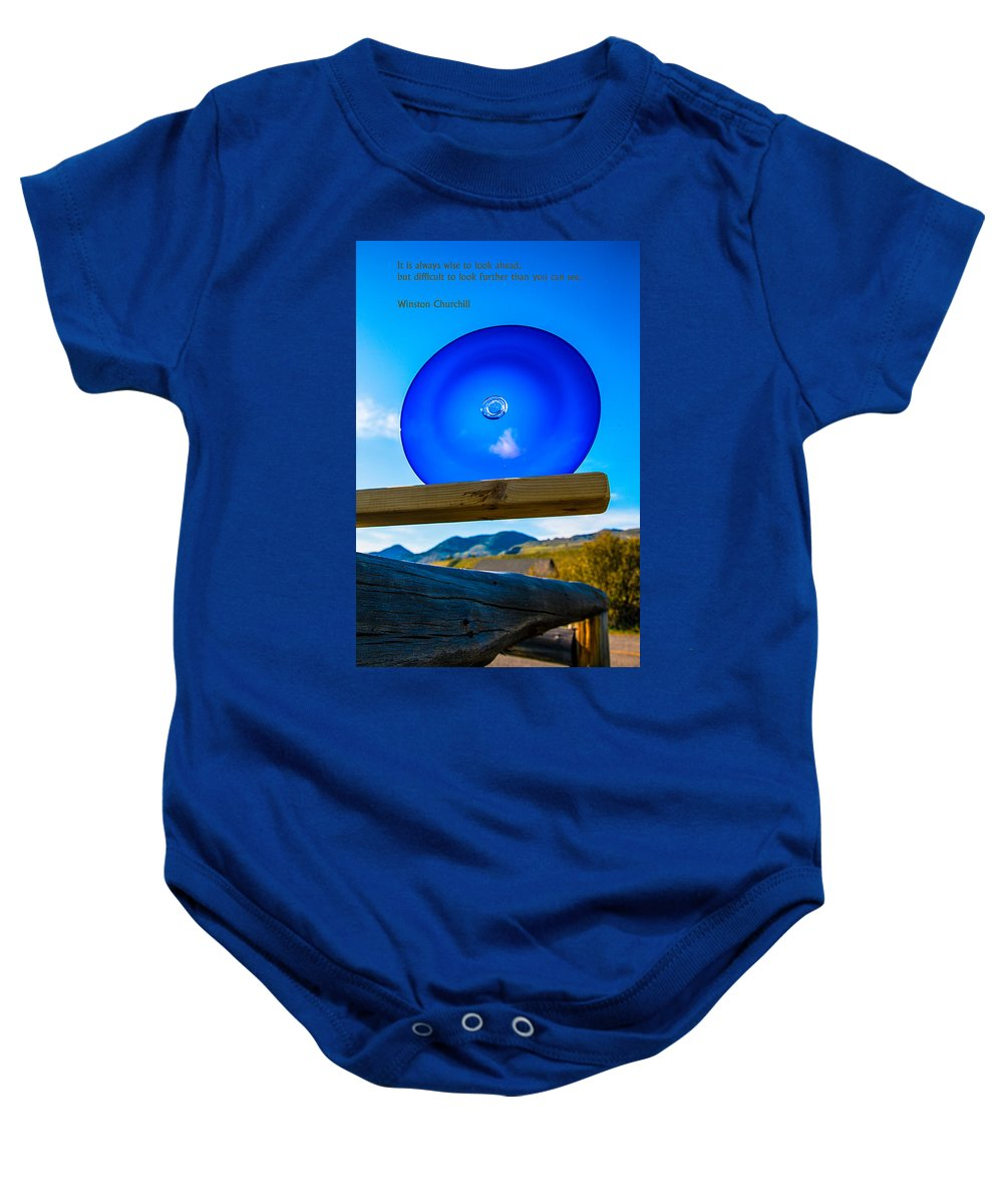 North Cascades Baby Onesie featuring the photograph Observing The Future by Omaste Witkowski