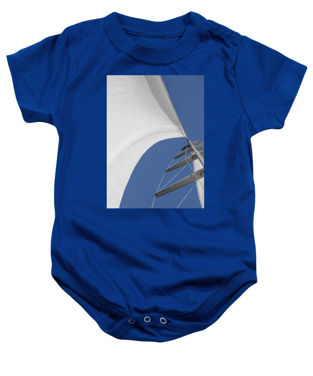 Sails Baby Onesie featuring the photograph Obsession Sails 10 by Scott Campbell