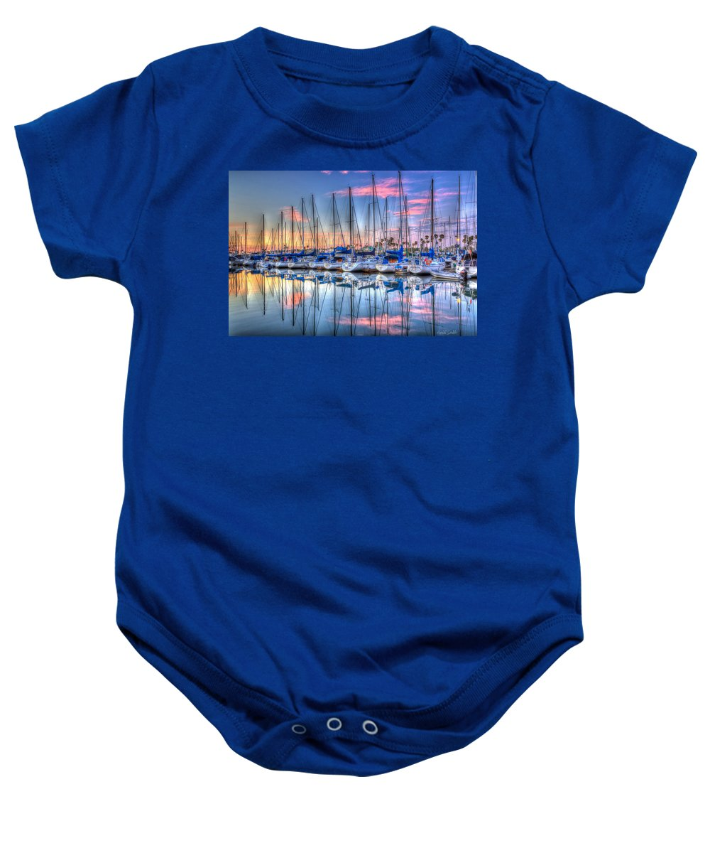Sunset Baby Onesie featuring the photograph Ooh Ahh by Heidi Smith