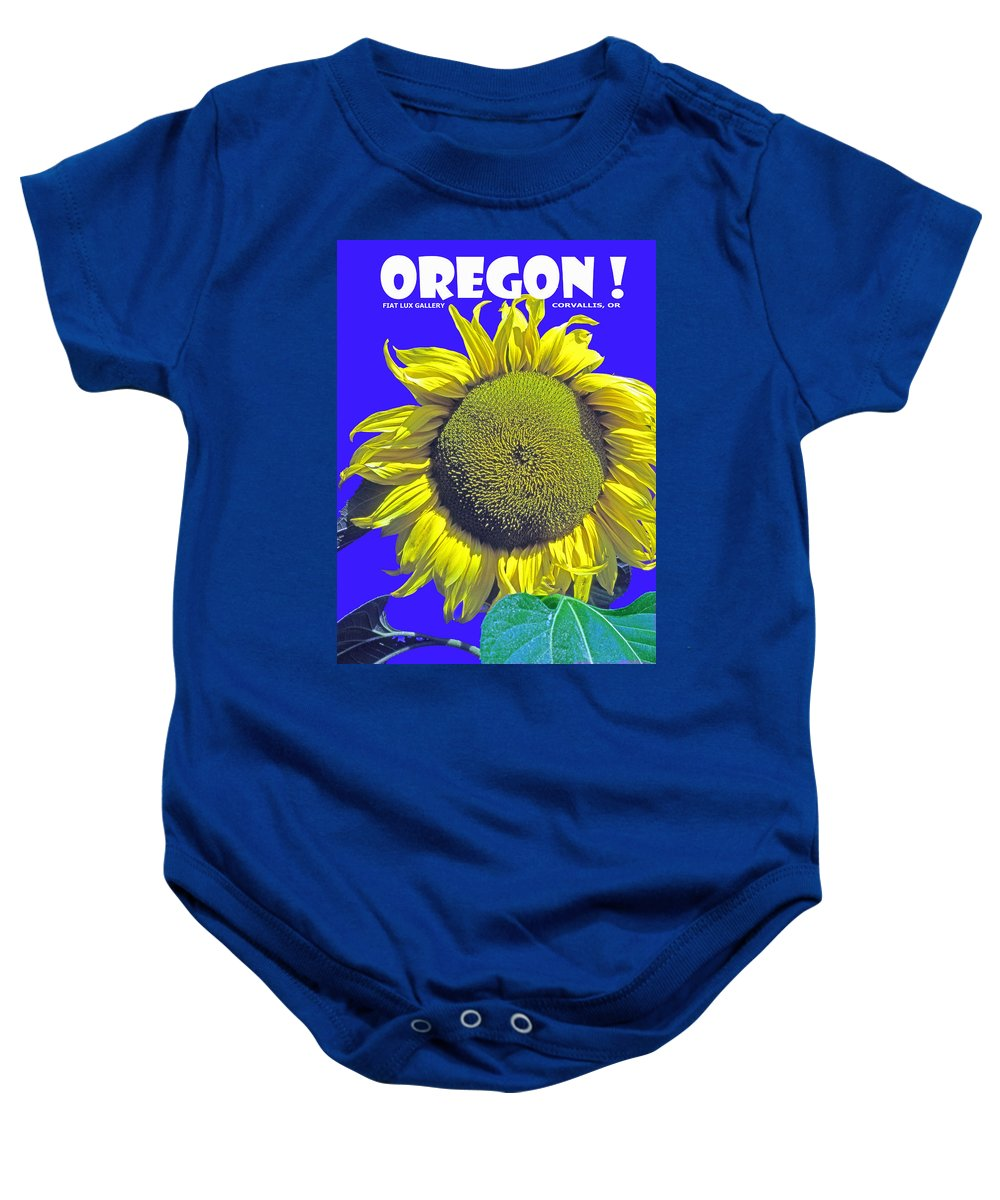 Oregon Baby Onesie featuring the photograph Oregon II by Michael Moore