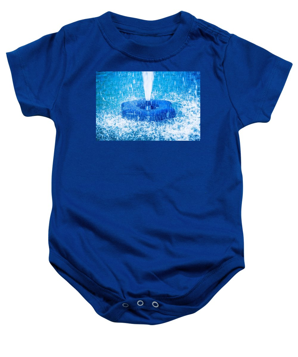 Water Baby Onesie featuring the photograph Salute To Spring by Alexander Senin