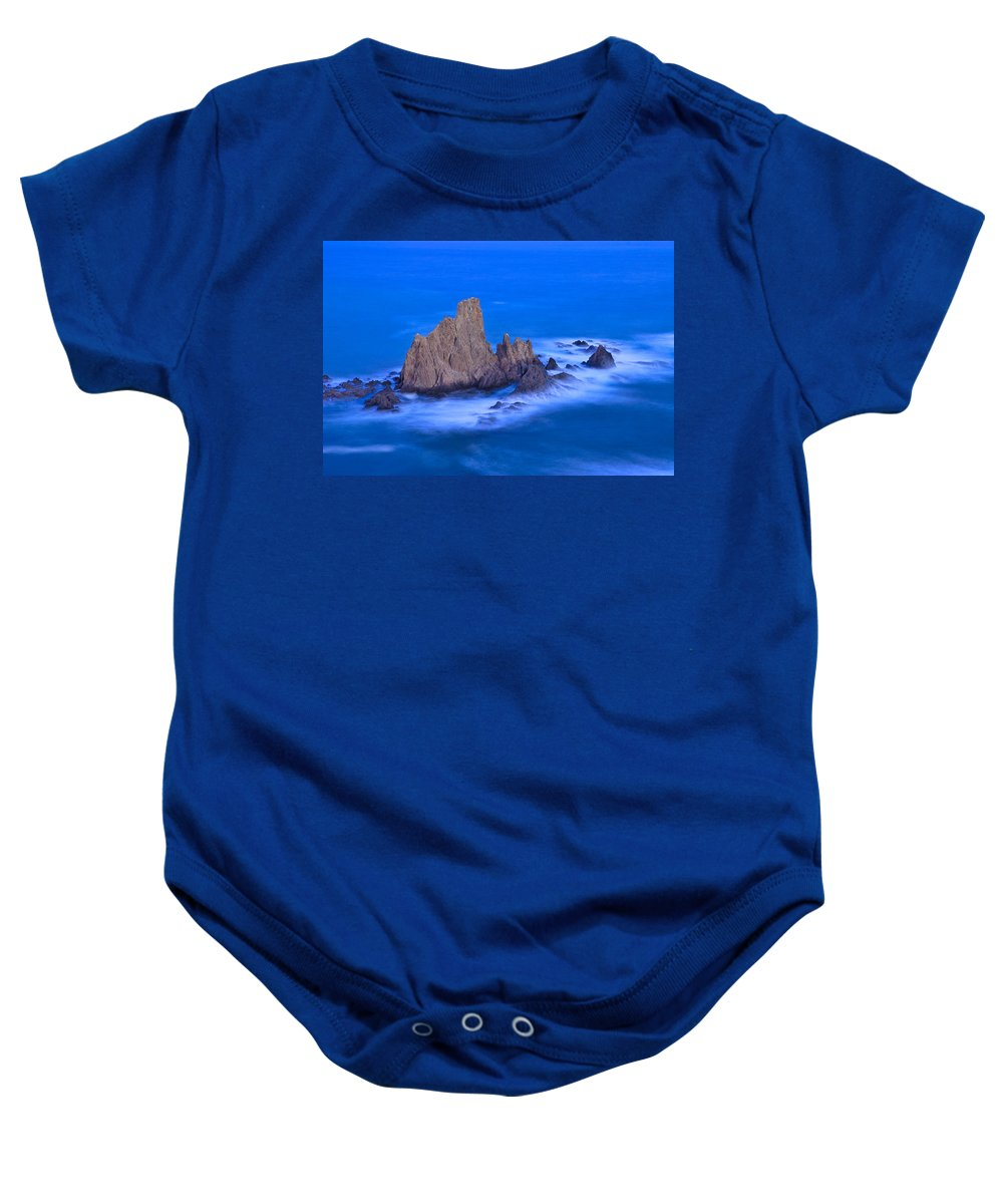 Water Baby Onesie featuring the photograph Sirenas by Guido Montanes Castillo