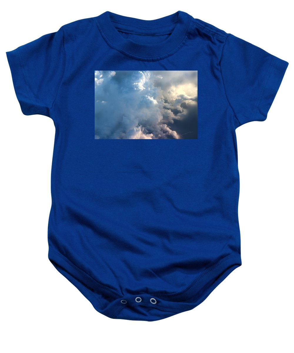 Clouds Baby Onesie featuring the photograph Somewhere Over Georgia by Kume Bryant