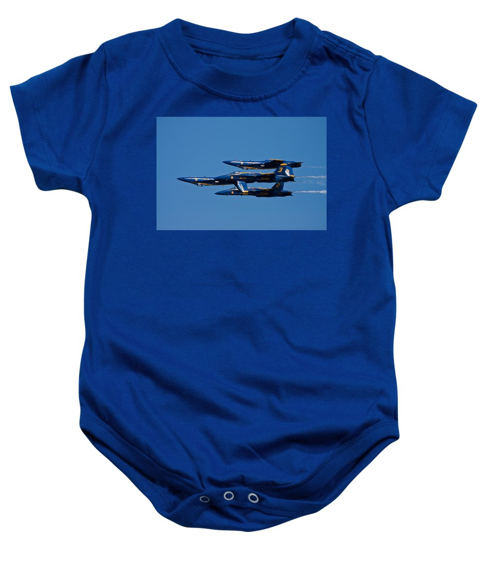 3scape Photos Baby Onesie featuring the photograph Teamwork by Adam Romanowicz