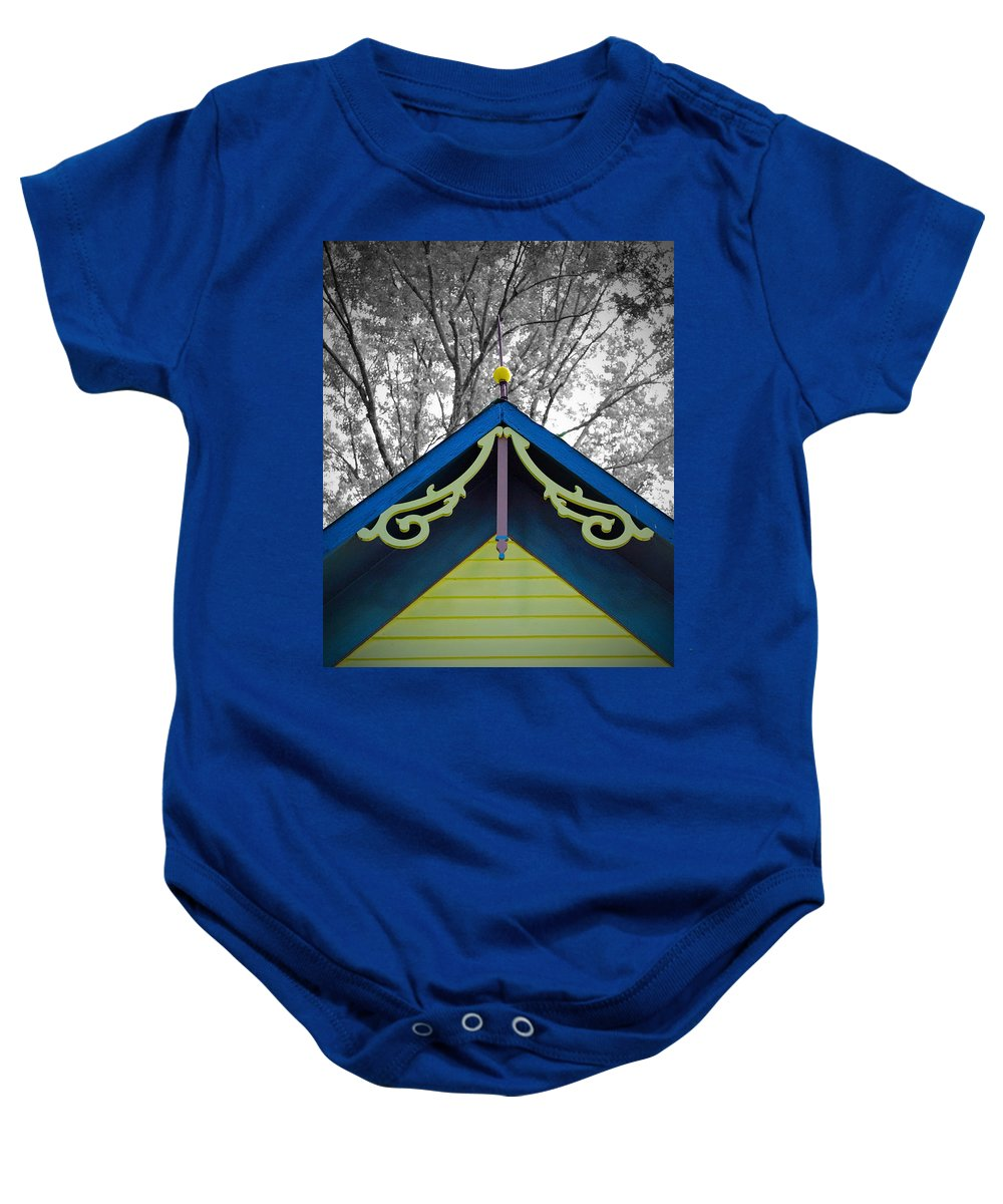 Victorian Baby Onesie featuring the photograph The Peak by Jost Houk