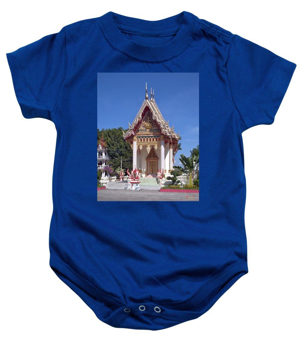 Ubon Ratchathani Baby Onesie featuring the photograph Wat Mahawanaram Ubosot Dthu652 by Gerry Gantt